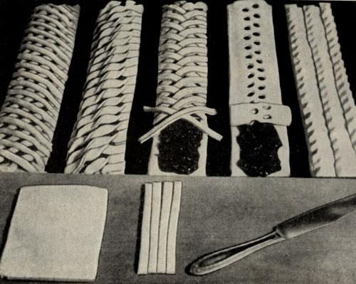Приготовление пирожных Плетенка