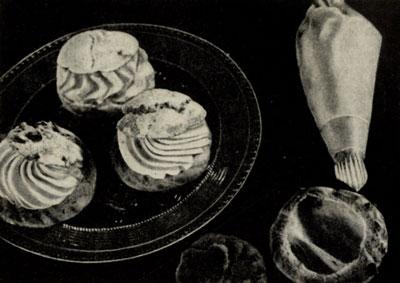 Заварные пирожные Шу