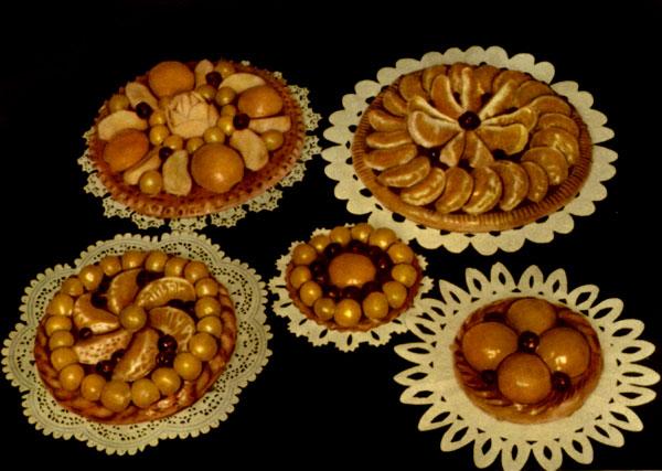 Пирожные сезонные тортики