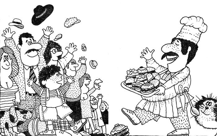 Гамбургеры всем по вкусу