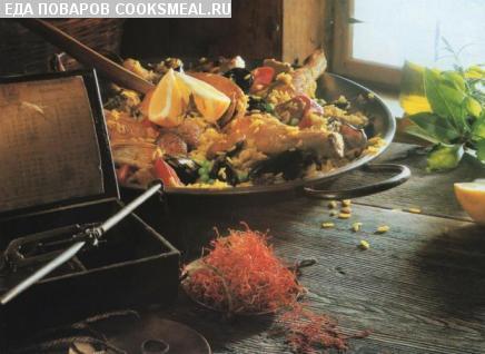 Испанская кухня   Кулинарные рецепты, рецепты блюд, национальная кухня, кухня народов мира.