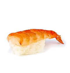 Нигири-суши с креветкой (эби)